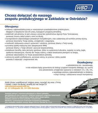 Ostróda: Naprawa, budowa kolejowych wagonów towarowych