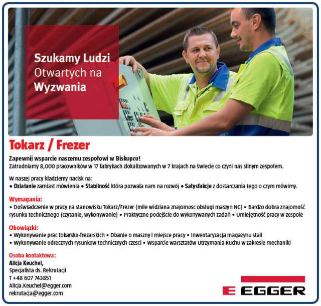 Tokarz/Frezer